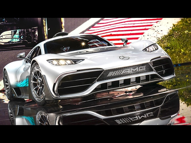 <em>Mercedes</em> AMG Project One Engine DRIVING Video Hypercar AMG Project One Drivetrain Concept 2017