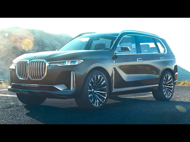 BMW X7 New Face Of All Future BMWs Official + Here's Why! 2018 BMW X7 Series SUV New CARJAM TV