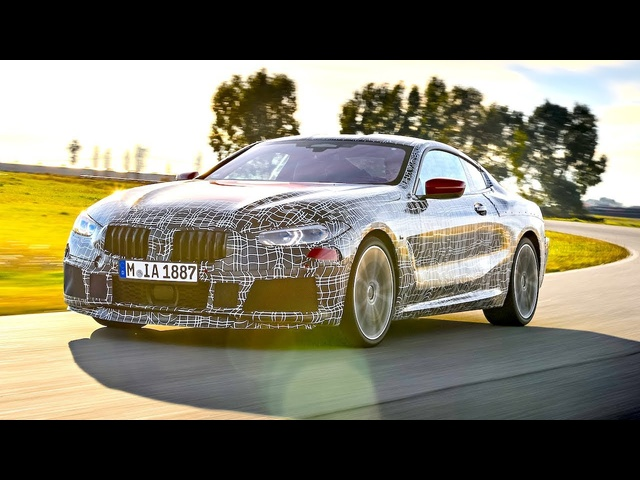 New <em>BMW</em> 8 Series Coupe Severe High Speed Testing Italy CARJAM TV