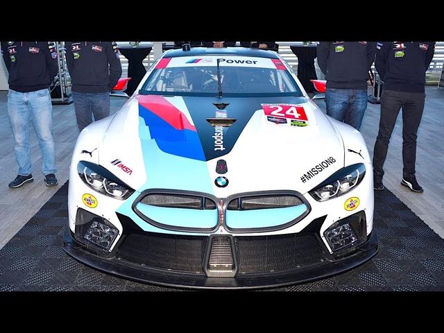 New <em>BMW</em> M8 GTE Le Mans Race Debut Rolex 24 Daytona 2018 WeatherTech SportsCar Championship CARJAM TV