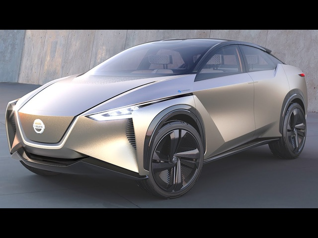 Nissan Electric Car Driven By Your Brain Waves! Nissan IMx Self Driving Car 2018 CARJAM TV