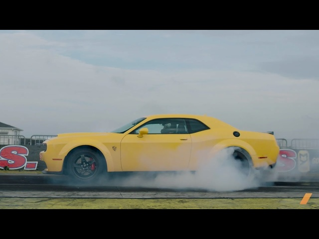 The 840-hp <em>Dodge</em> Challenger SRT Demon -- TEST/DRIVE