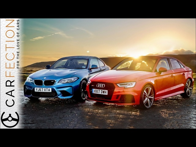 BMW M2 vs. <em>Audi</em> RS3: Henry Catchpole Compares - Carfection