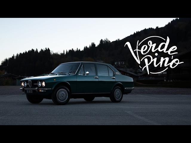 1972 Alfa Romeo Alfetta: Verde Pino