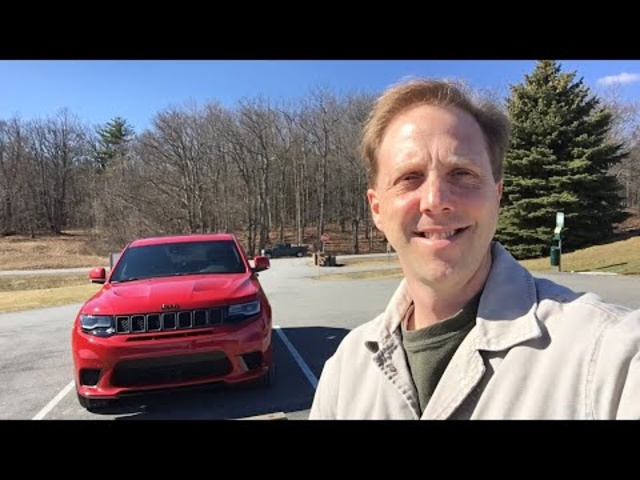 First Day with Jeep Grand Cherokee Trackhawk