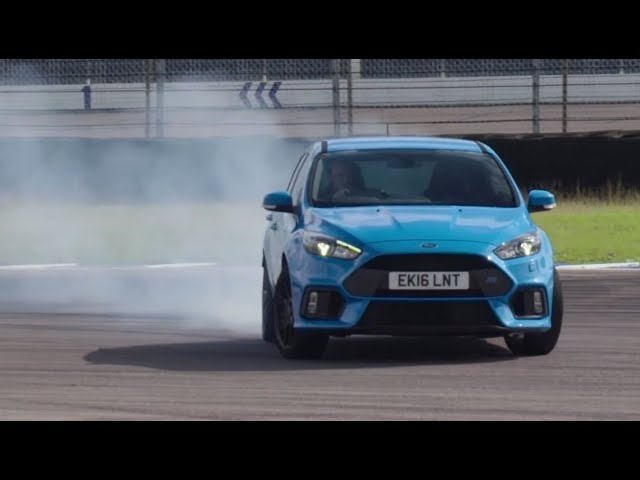 Ford Focus RS (2015) at Rockingham -- /DRIVE ARCHIVES