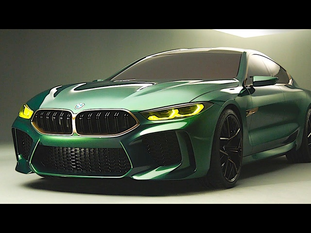 BMW M8 Gran Coupe 2019 World Premiere Geneva 2018 BMW 8 Series CARJAM