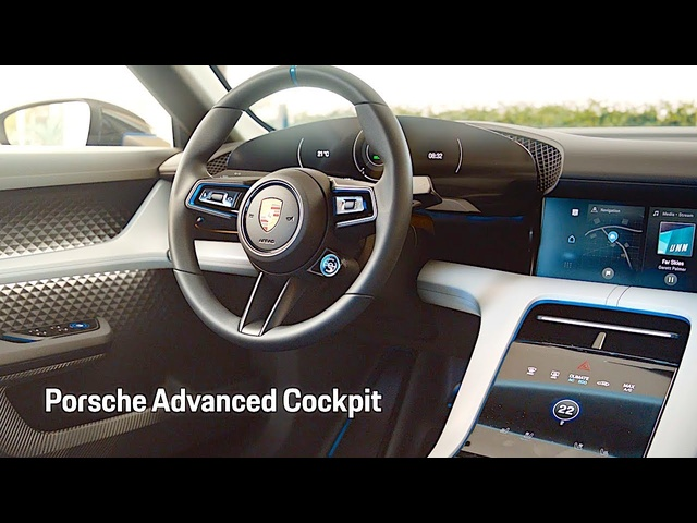 Porsche Mission E INTERIOR Review Cross Turismo REVIEW 2019 Geneva 2018 CARJAM