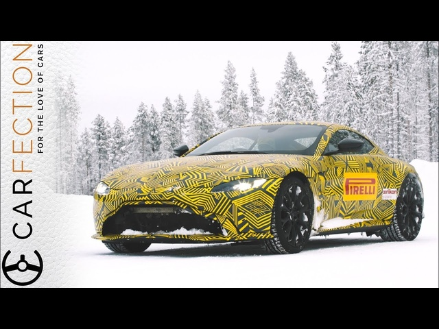 NEW Aston Martin Vantage: Extreme Winter Drive - Carfection