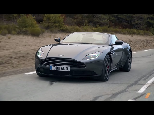 Aston Martin DB11 Volante, The Best Convertible GT -- TEST/DRIVE