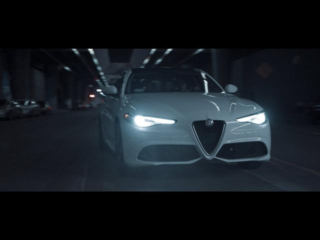 Flowcine Black Arm Test | Alfa Romeo Giulia
