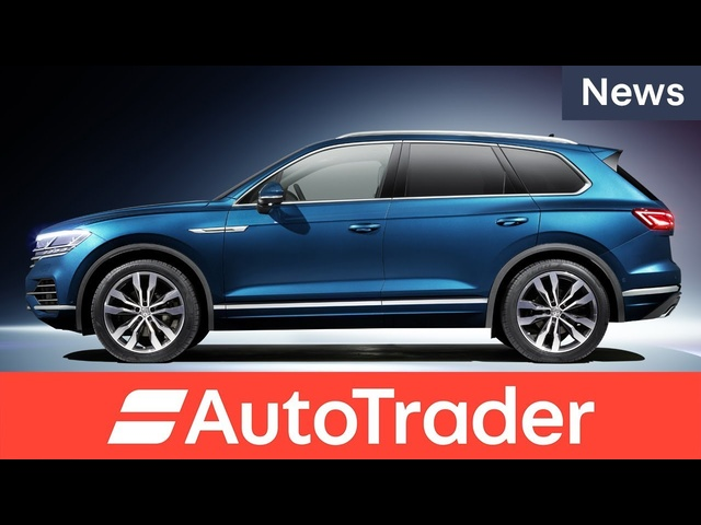 Say hello to the 2018 <em>Volkswagen</em> Touareg