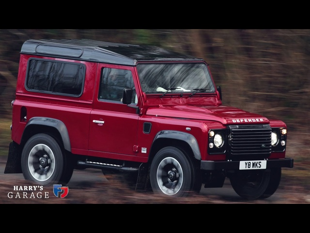 2018 Land Rover Defender Works V8 drive and review