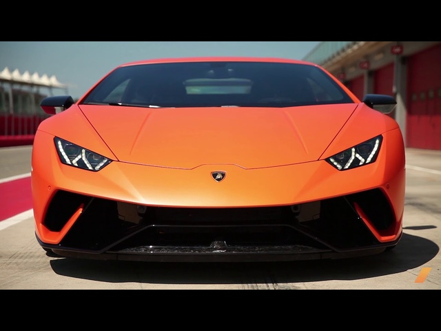 The Lamborghini Huracan Performante, with Alessandro Farmeschi