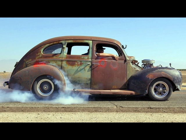 Bootlegging with Boost! '40 Ford Fordor Gets Supercharged - Roadkill Garage Preview Ep. 26