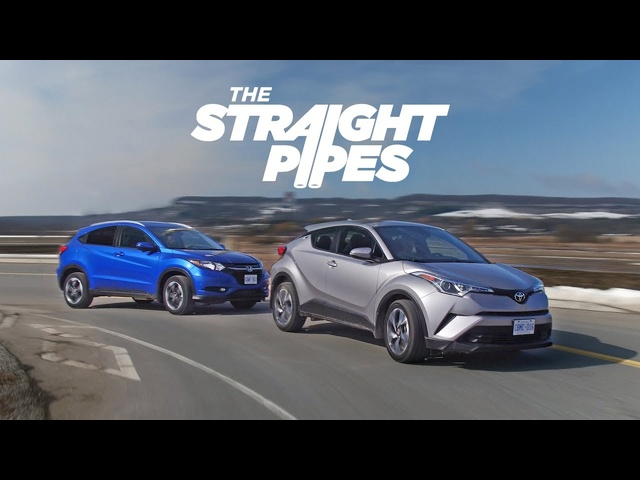 2018 Toyota C-HR vs <em>Honda</em> HR-V - Crossover Battle of the Millenium