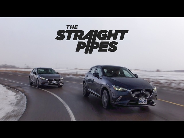 2018 Mazda3 Sport vs Mazda CX-3 Review