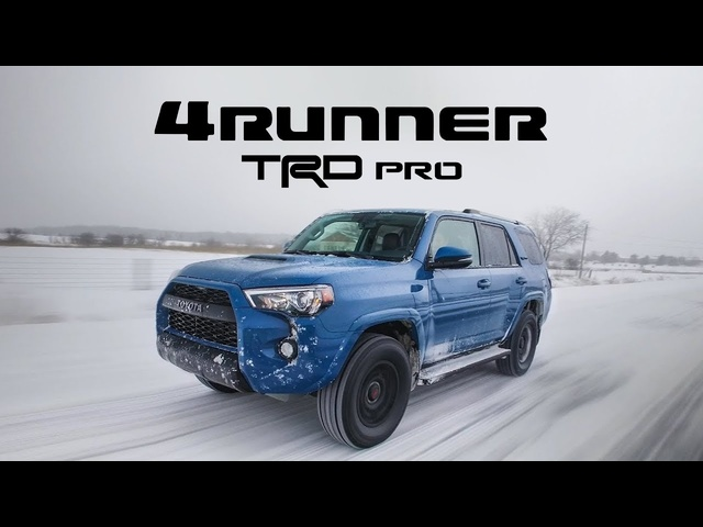 2018 <em>Toyota</em> 4Runner TRD Pro Review - SUV Done Right
