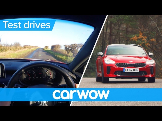 Kia Stinger 2018 Point of View | Test Drives