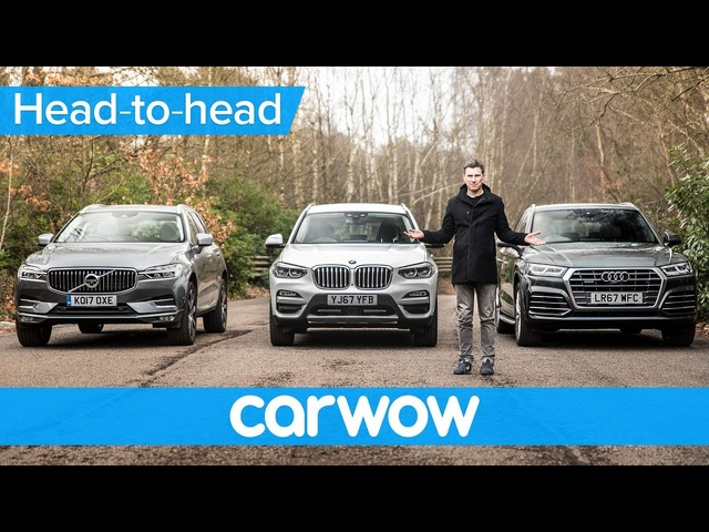 BMW X3 vs Audi Q5 vs <em>Volvo</em> XC60 2018 - which is best? | Head-to-Head