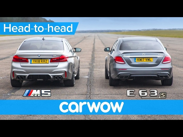 New BMW M5 vs <em>Mercedes</em>-AMG E63 S - DRAG RACE, ROLLING RACE & BRAKE TEST