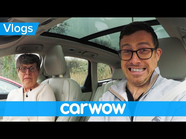 Scaring my mom with <em>Volvo</em>'s latest self-driving tech | Mat Vlogs