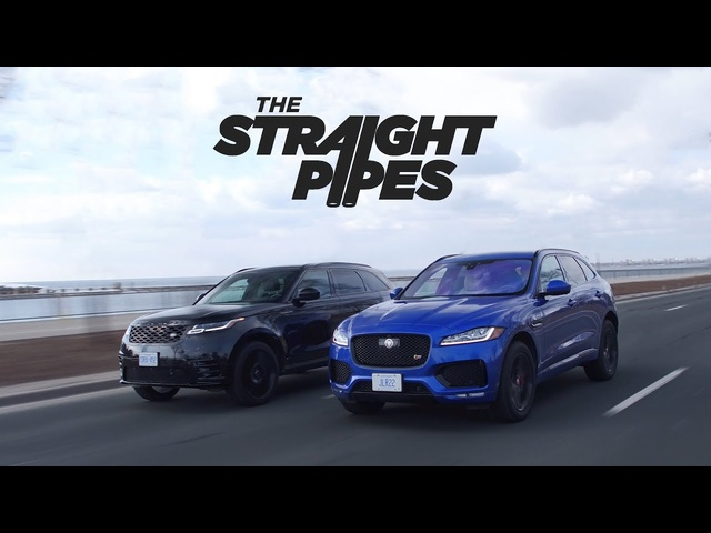 2018 Range <em>Rover</em> Velar vs Jaguar F-Pace S Review - Luxury SUV Battle