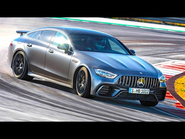 Mercedes AMG GT Engine Start | High Speed Driving On Track Great Engine Sound 2018 AMG Video CARJAM