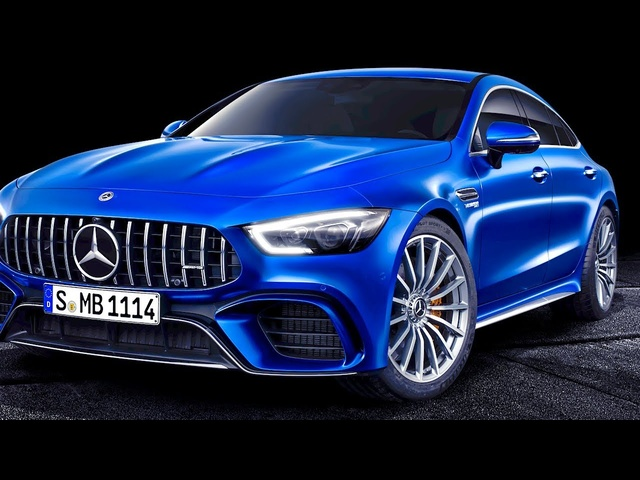 Mercedes AMG GT Live World Premiere 2019 Geneva 2018 New Mercedes-AMG GT 4-Door Coupe CARJAM