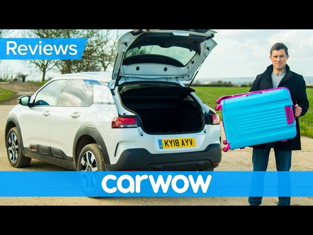 Citroen C4 Cactus 2018 SUV practicality review | Mat Watson Reviews
