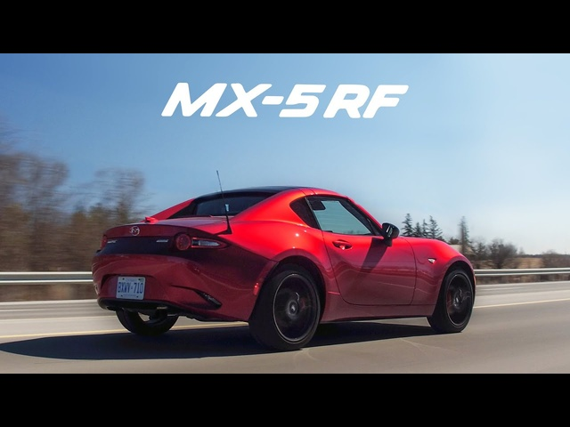 2018 Mazda MX-5 Miata RF - The Best Looking Miata