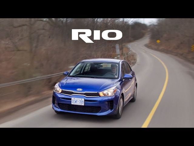 2018 Kia Rio 6 Speed Manual Review - Actually Really Fun!