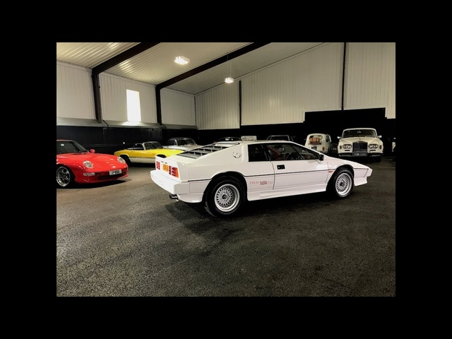 Lotus Esprit Turbo HC real-world review.