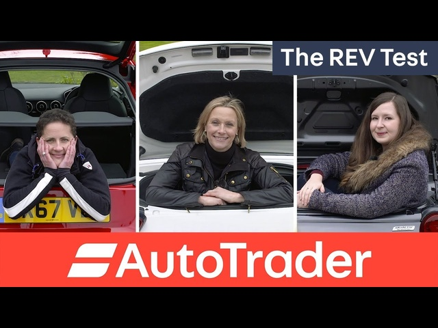 Welcome to The REV Test. Three Women, three cars, which is the winner?