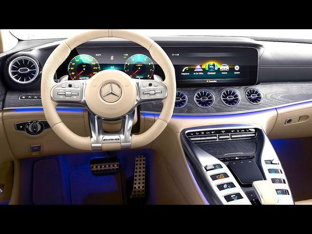 Mercedes AMG GT INTERIOR In Detail New Mercedes AMG GT INTERIOR Options 2019