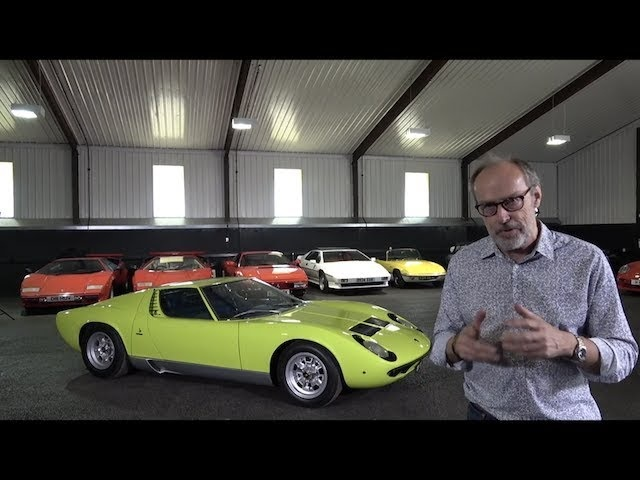 Lamborghini Miura history and driving review