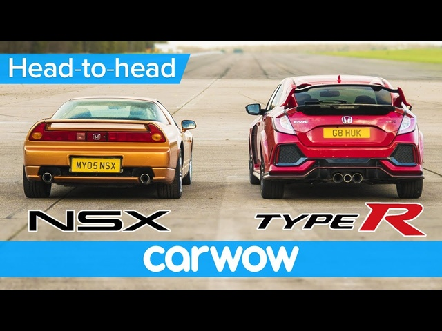 Honda Civic Type R vs Old NSX – DRAG RACE, ROLLING RACE & BRAKE TEST | Head-to-Head