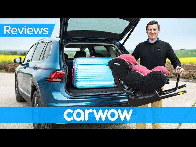 <em>Volkswagen</em> Tiguan Allspace SUV 2018 practicality review | Mat Watson Reviews
