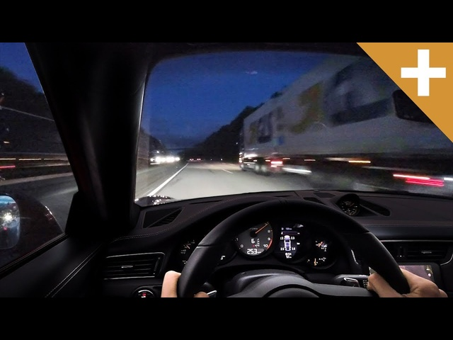 EXCLUSIVE: 2019 Porsche 911 GT3 RS 300km/h Autobahn Run - Carfection +