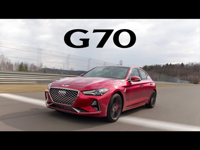 2019 Genesis G70 Review - On the Road, Track, and Autocross