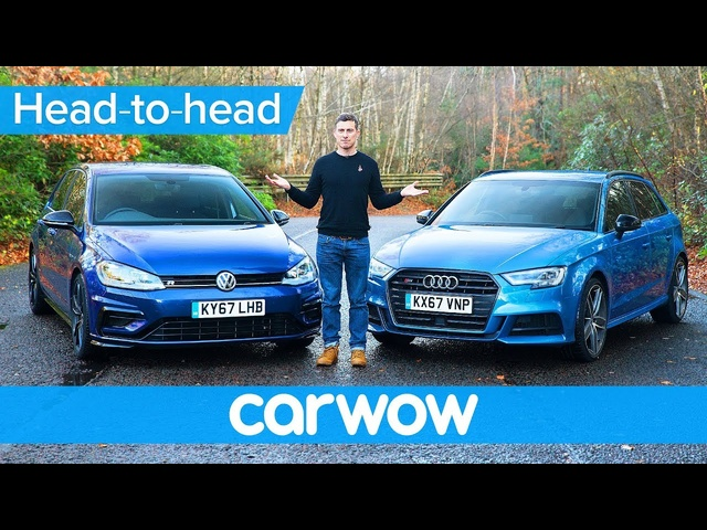 VW Golf R vs <em>Audi</em> S3 2018 - find out which is the best | Head-to-Head