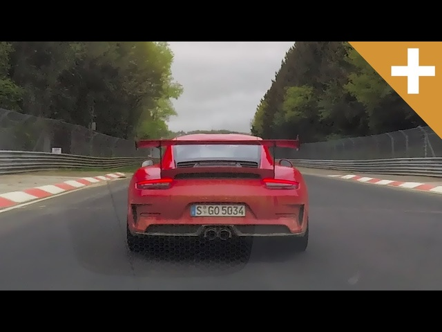 NEW <em>Porsche</em> 911 GT3 RS Vs 911 GT3: Nürburgring Hot Lap - Carfection +