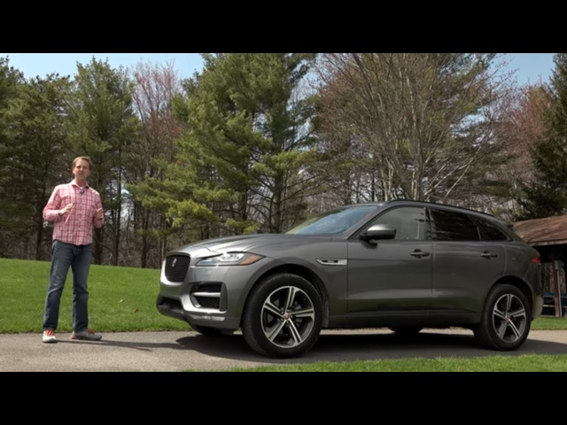 2018 Jaguar F-PACE 20d | Full Review | with Steve Hammes