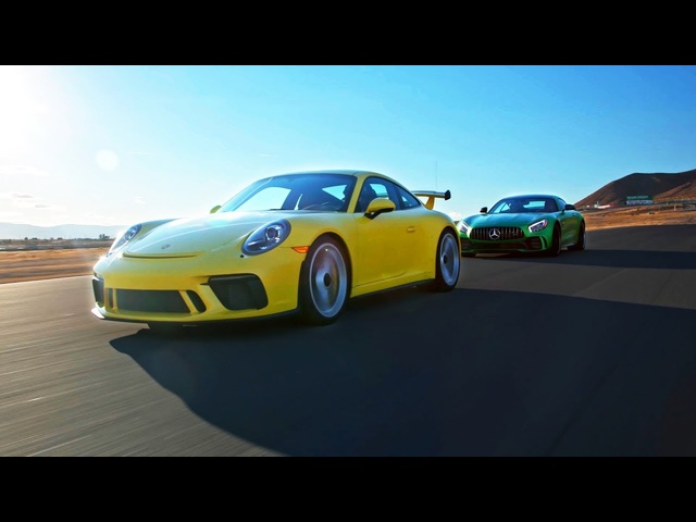 Classical vs. Hard Rock: The Porsche 911 GT3 vs AMG GT R Head 2 Head Preview Ep. 100