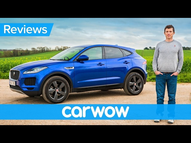 <em>Jaguar</em> E-Pace SUV 2020 in-depth review | carwow Reviews
