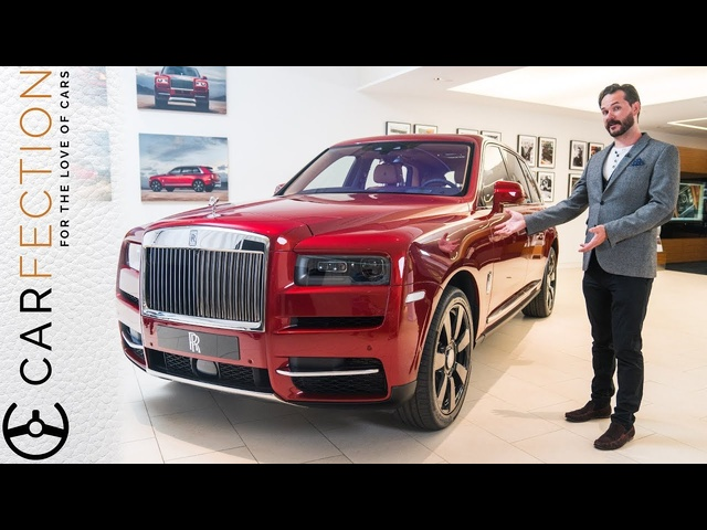 Rolls-Royce Cullinan SUV: EXCLUSIVE First Look - Carfection