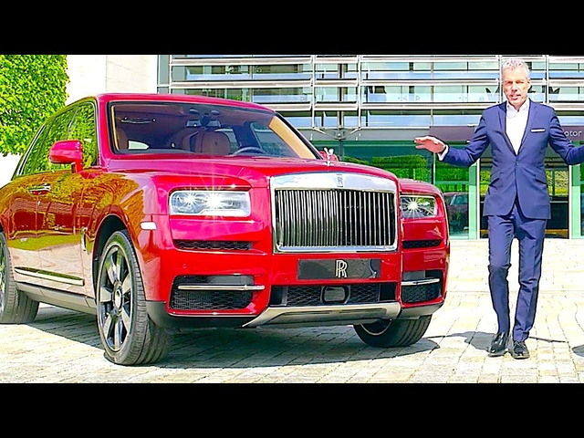 Rolls Royce Cullinan REVIEW In Depth Worlld Premiere Rolls Royce SUV Price INTERIOR Driving Off Road