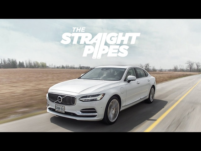 2018 <em>Volvo</em> S90 T8 Inscription Review -Supercharged Turbo Plug In Hybrid Luxury