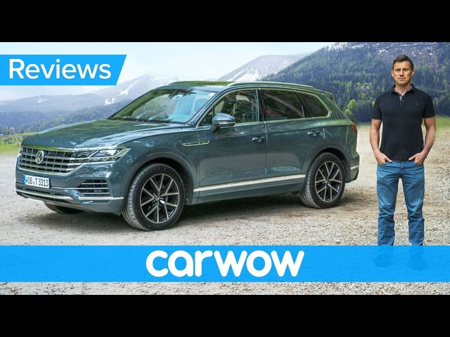 New Volkswagen Touareg SUV 2019 review - better than an <em>Audi</em> Q7 and Bentley Bentayga!