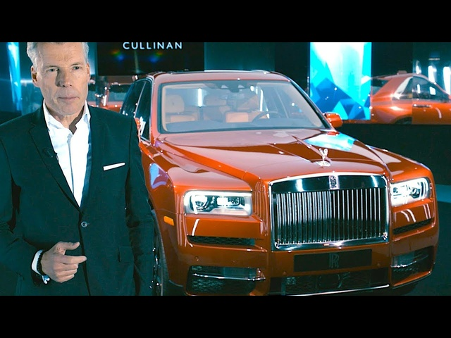 Why A Rolls Royce SUV? Rolls Royce CEO Interview New Rolls-Royce Cullinan Video CARJAM TV